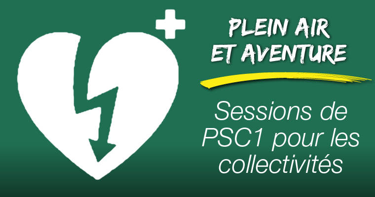 Sessions de PSC1 pour les collectivités