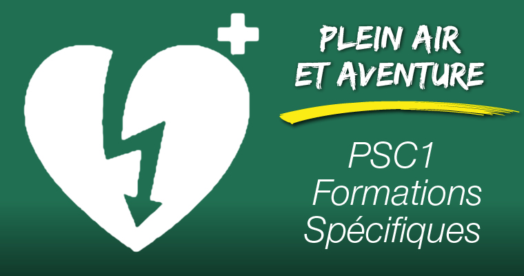 Sessions de PSC1 Formations Spécifiques 2020